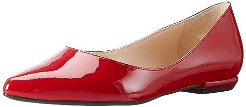 ca0e95b784339 Högl 3-18 0004 4000, Ballerines Femme, Rouge (Red4000), 34.5 EU ...