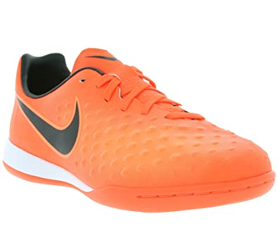 NIKE Youth Magistax Opus II Indoor Shoes [Total Crimson] (1Y)