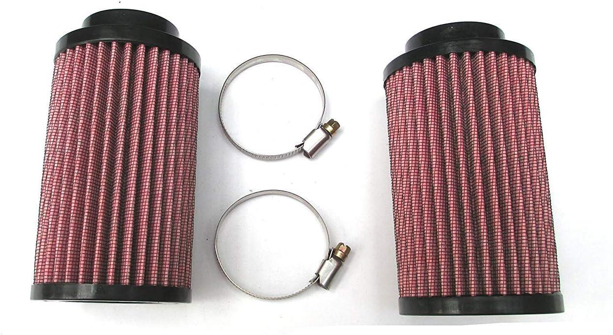 26mm Air Pod Filters Filter Pair Stock Carb Fit Yamaha Banshee YFZ 350