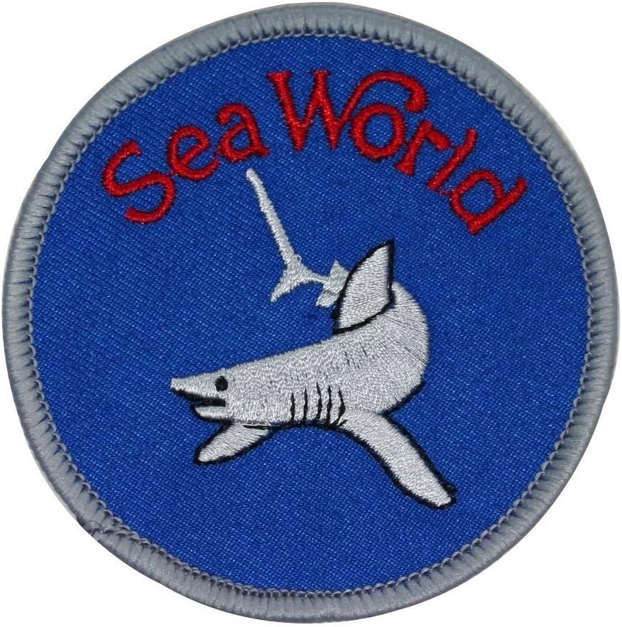 Patch Iron-On Shark Family Fish Applique Sea World