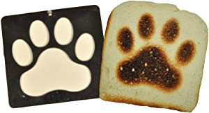 Burnt Impressions Toaster Inserts - Paw
