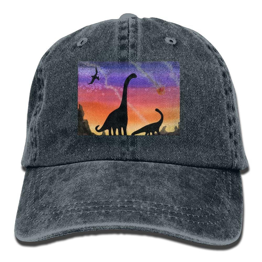Magical plesiosaur With Sunset Unisex Sport Adjustable Structured Baseball Cowboy Hat