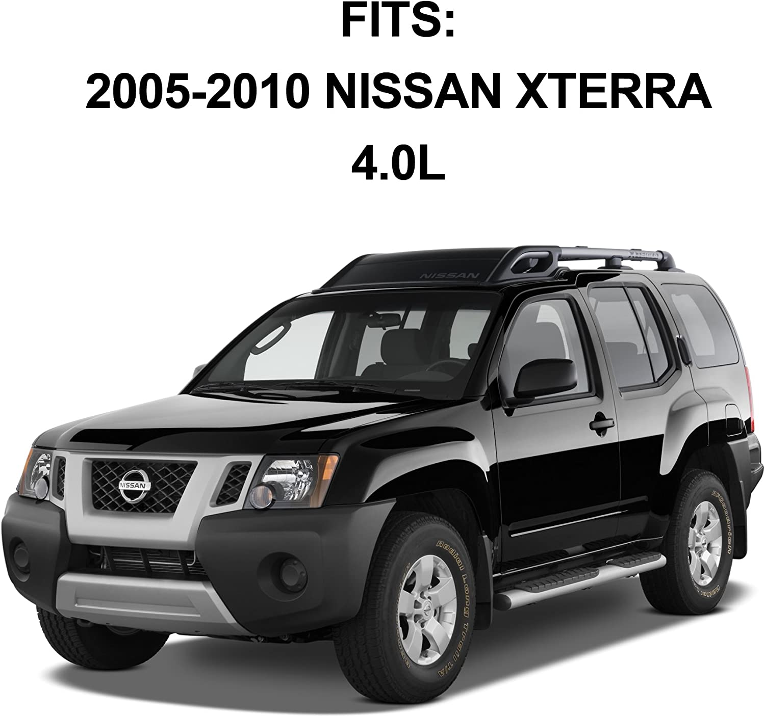 Catalytic Converter Replacement Front Passenger Side Pre-Cat 2005-2010 Nissan Pathfinder Direct Fit OBDII with Gaskets /& Bolts Included Xterra 4.0L Frontier