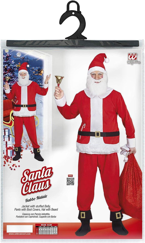 Adulti Natale Babbo Natale Big Belly Stuffer Costume Festa Di Natale Accessorio Costume