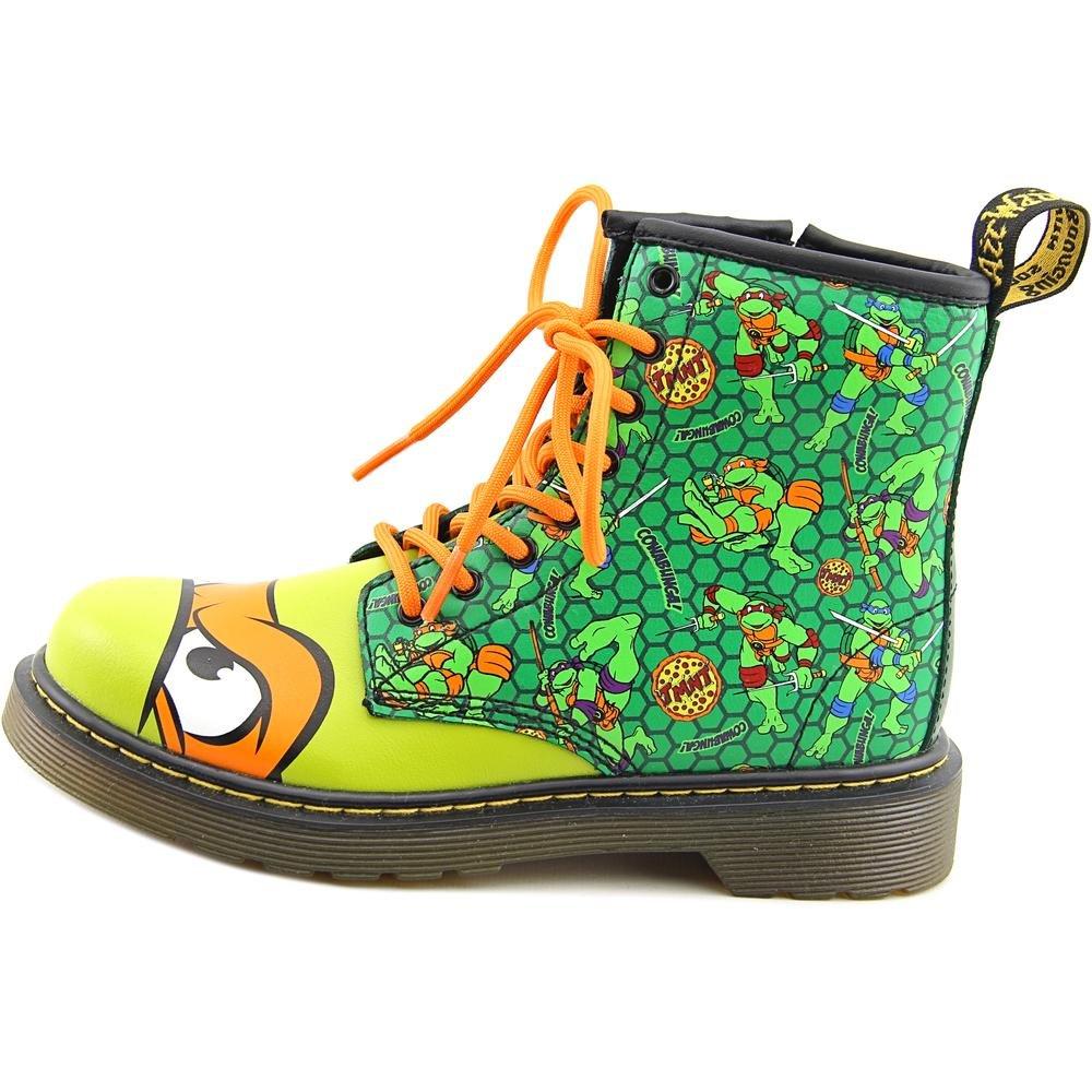 Martens Mikey T Lamper Boot Green Orange Dr