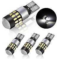 POMILE Auto Innenraumbeleuchtung Weiß Canbus 12V~24V 6000K Standlicht Auto Licht Lampe (4 Pic, Weiß)