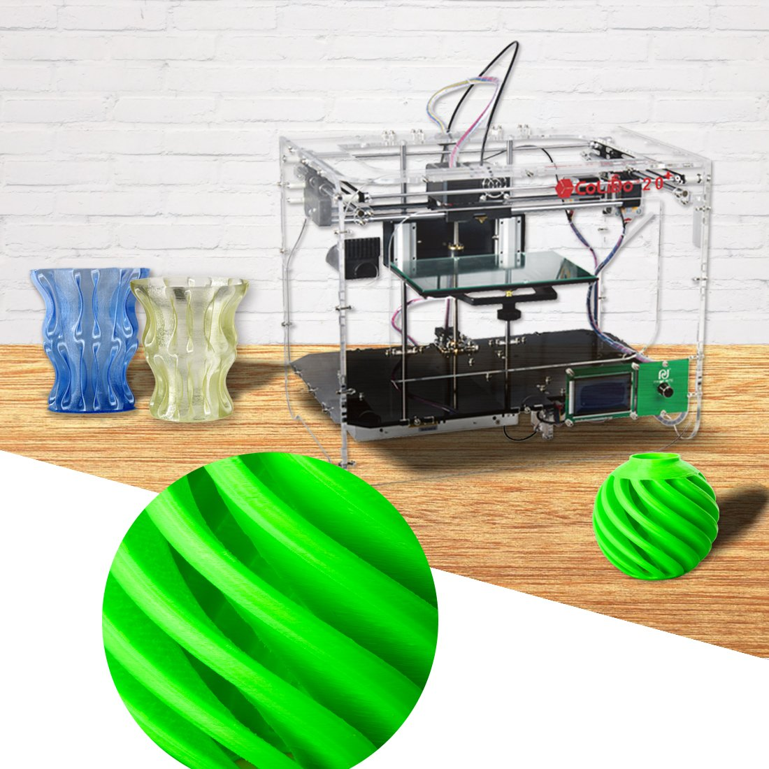 Colido COL3D-LMD116X Impresora 3D, 22.5 cm x 14.5 cm x 14 cm ...