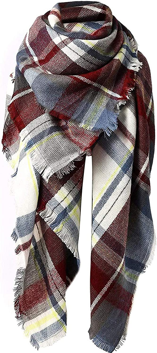 Zando Plaid Blanket Thick...