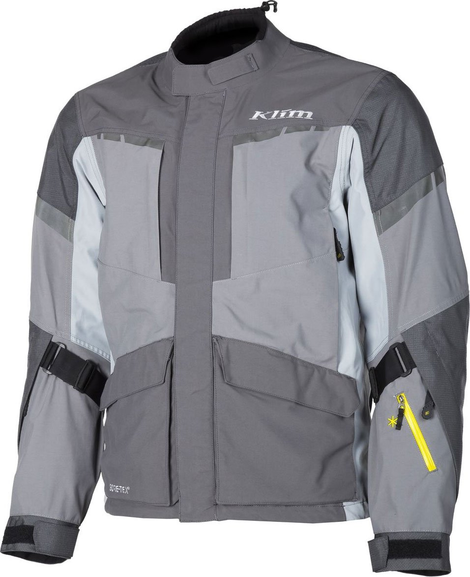 Klim Carlsbad Mens Off-Road Motorcycle Jackets - Gray / 3X-Large