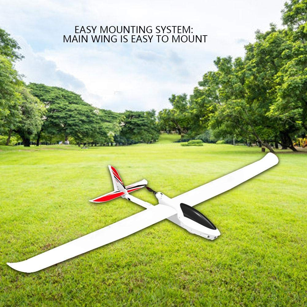 Dilwe PNP Glider, 2000MM Wingspan Fixed-Wing Glider with 2215 1400KV Motor 30A ESC RC Aircraft Model Outdoor Toys(PNP) by Dilwe (Image #5)