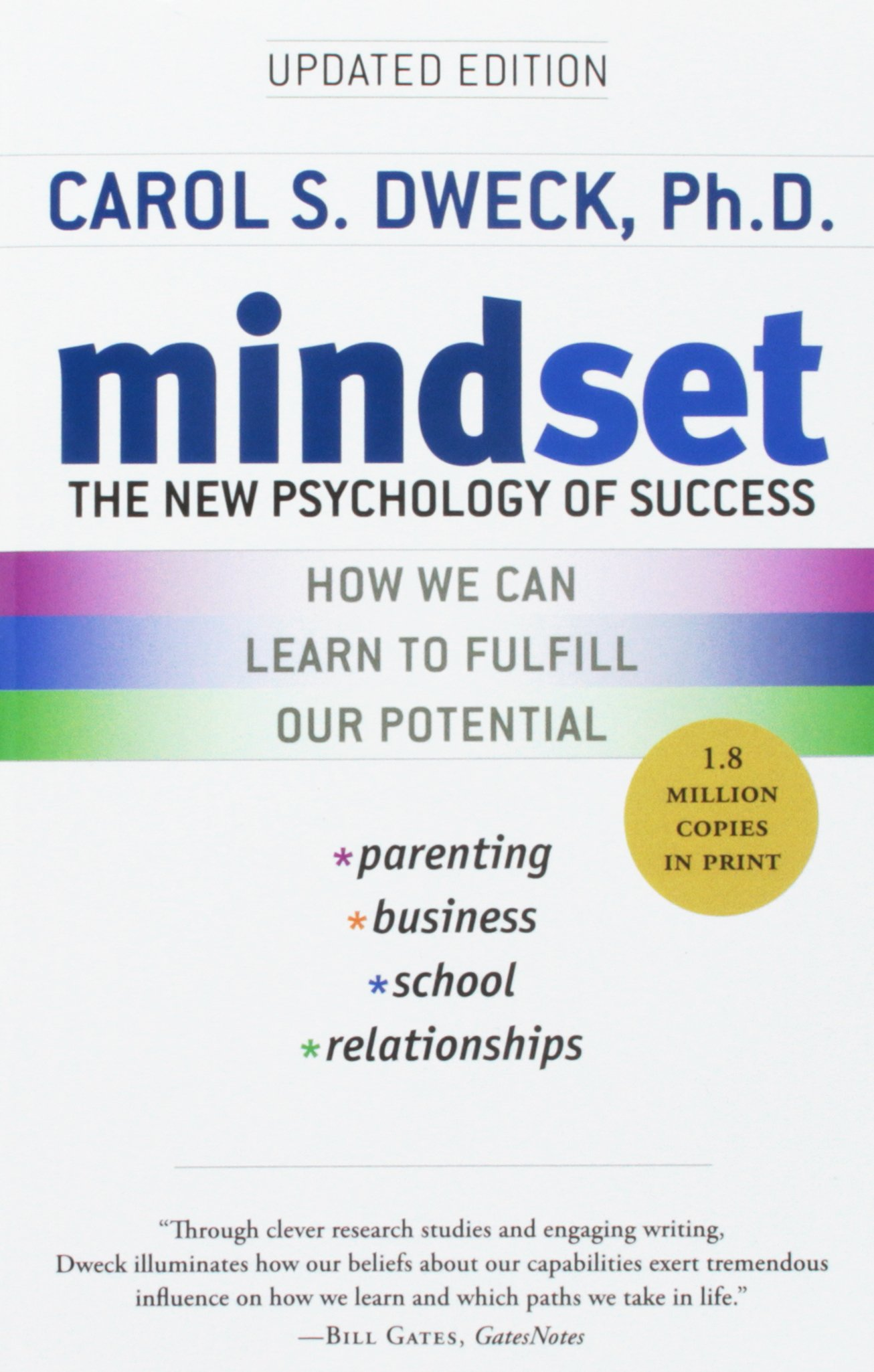 Image for MINDSET : NEW PSYCHOLOGY OF SUCCESS