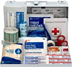 First Aid Only 178 Piece Contractor's First Aid Kit, OSHA Compliant