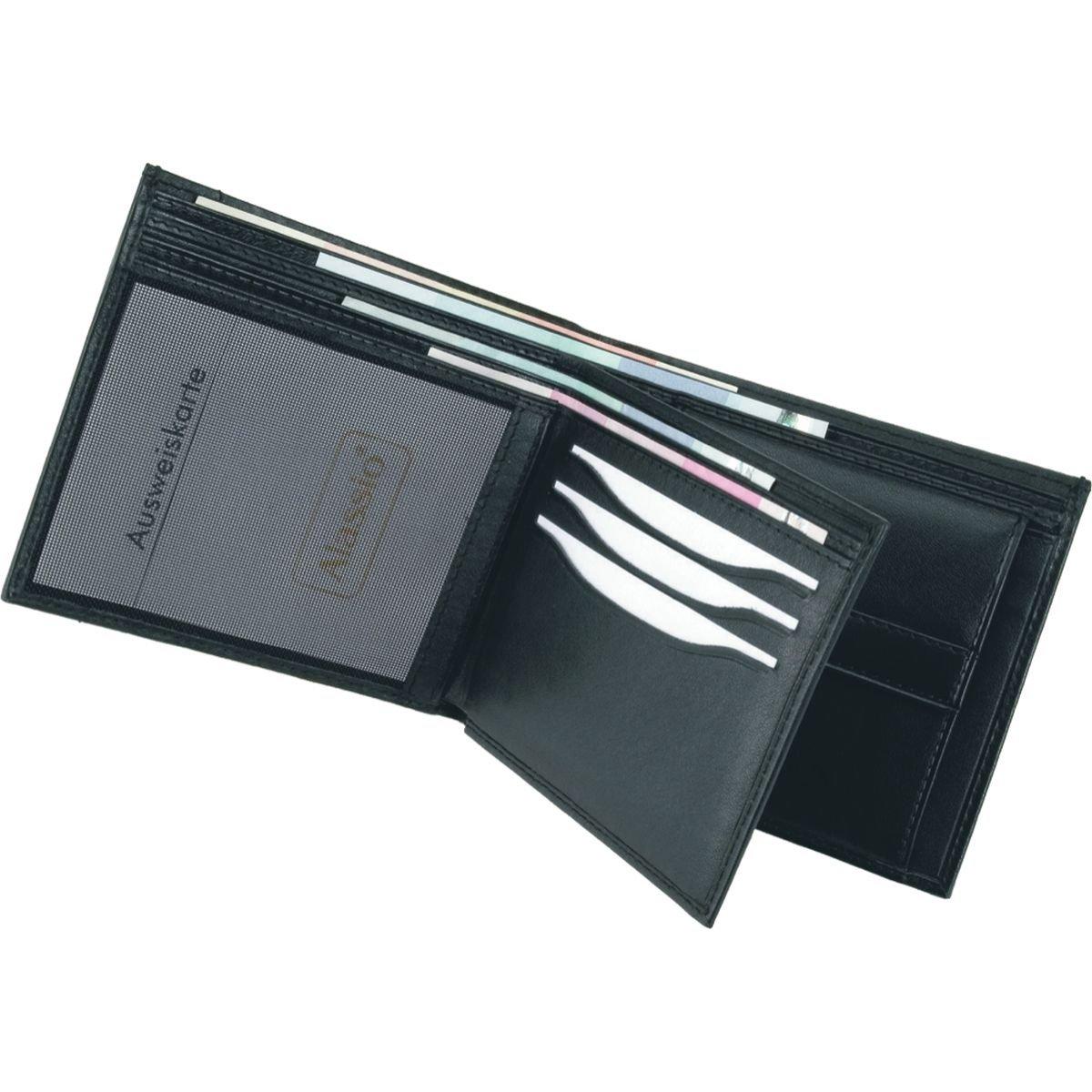 Noir - 42140 Alassio Porte-Monnaie Noir