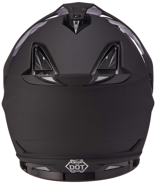 Gmax G5115474 Dual Sport Solid Helmet