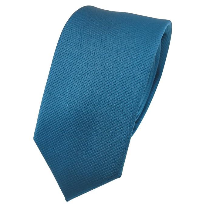 TigerTie - corbata estrecha - turquesa agua azul turquesa ...
