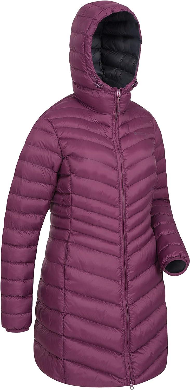 Padded Winter Coat Mountain Warehouse Florence Womens Long Jacket