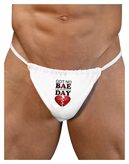 Amazon Com Tooloud No Bae For Valentine S Day Mens G String