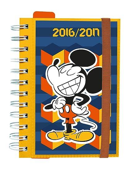Grupo Erik Editores Disney - Agenda escolar dp 2016/2017, 11.4 x 16.5 cm