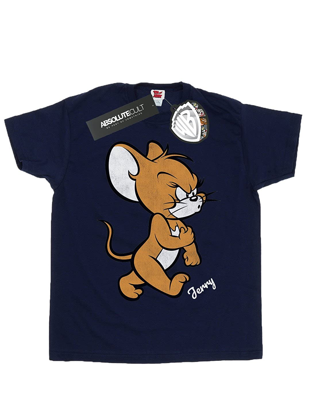 Tom and Jerry Boys Angry Mouse T-Shirt