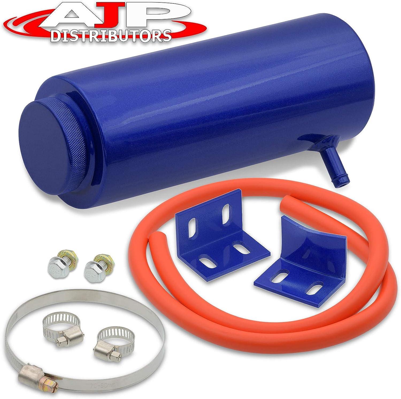 "14/"" Universal Push//Pull Radiator Slim Fan kit+Red 800ml Reservoir Coolant Tank"