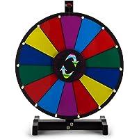 Happybuy 24inch Tabletop color premio rueda con plegable