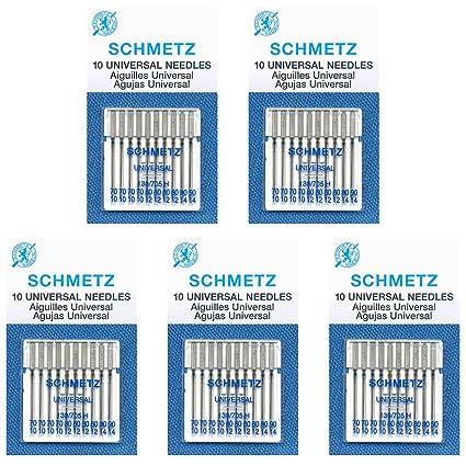 Amazon.com: Schmetz - Agujas universales para máquina de ...