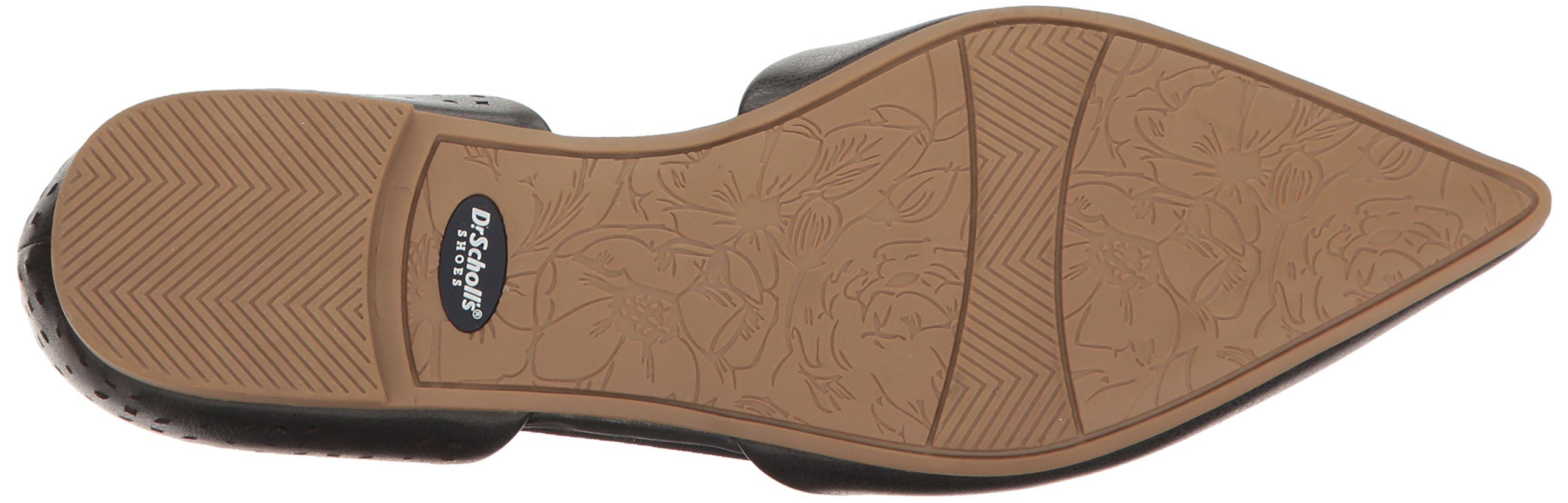 Dr. Scholl's Women's Svetlana Pointed Toe Flat, Black Perforated, 9.5 M US by Dr. Scholl's (Image #3)