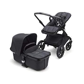 b2a06ad0b18 Amazon.com : Bugaboo Fox Stellar Complete Full-Size Stroller -  Limited-Edition, Fully-Loaded, Foldable Stroller Designed with Reflective  Trim for Nighttime ...