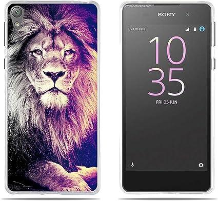 FUBAODA Funda Sony Xperia E5 de Silicona,Fina,Ultra Suave con ...