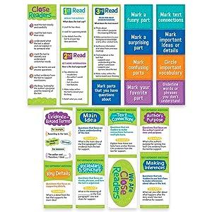 Creative Teaching Press Close Reading Mini Bulletin Board, Gr. 3-5 (0608)