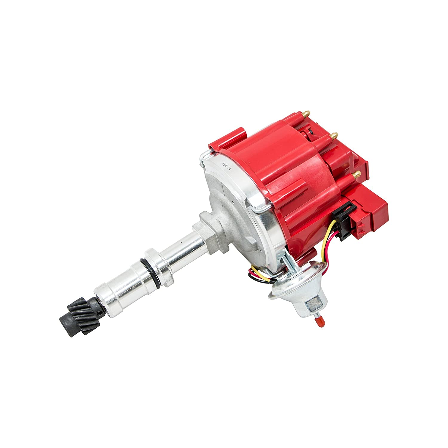 Top Street Performance JM6525R HEI Distributor with Red Cap