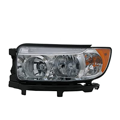 TYC 20-6784-00-9 Subaru Compatible withester Left Replacement Head Lamp: Automotive