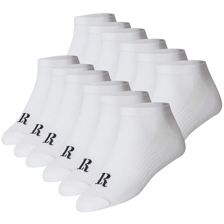 LOF ROND Herren /& Damen Sneaker Socken Super Qualit/ät 43-46 39-42 12x Paar Gr/össen- 35-38