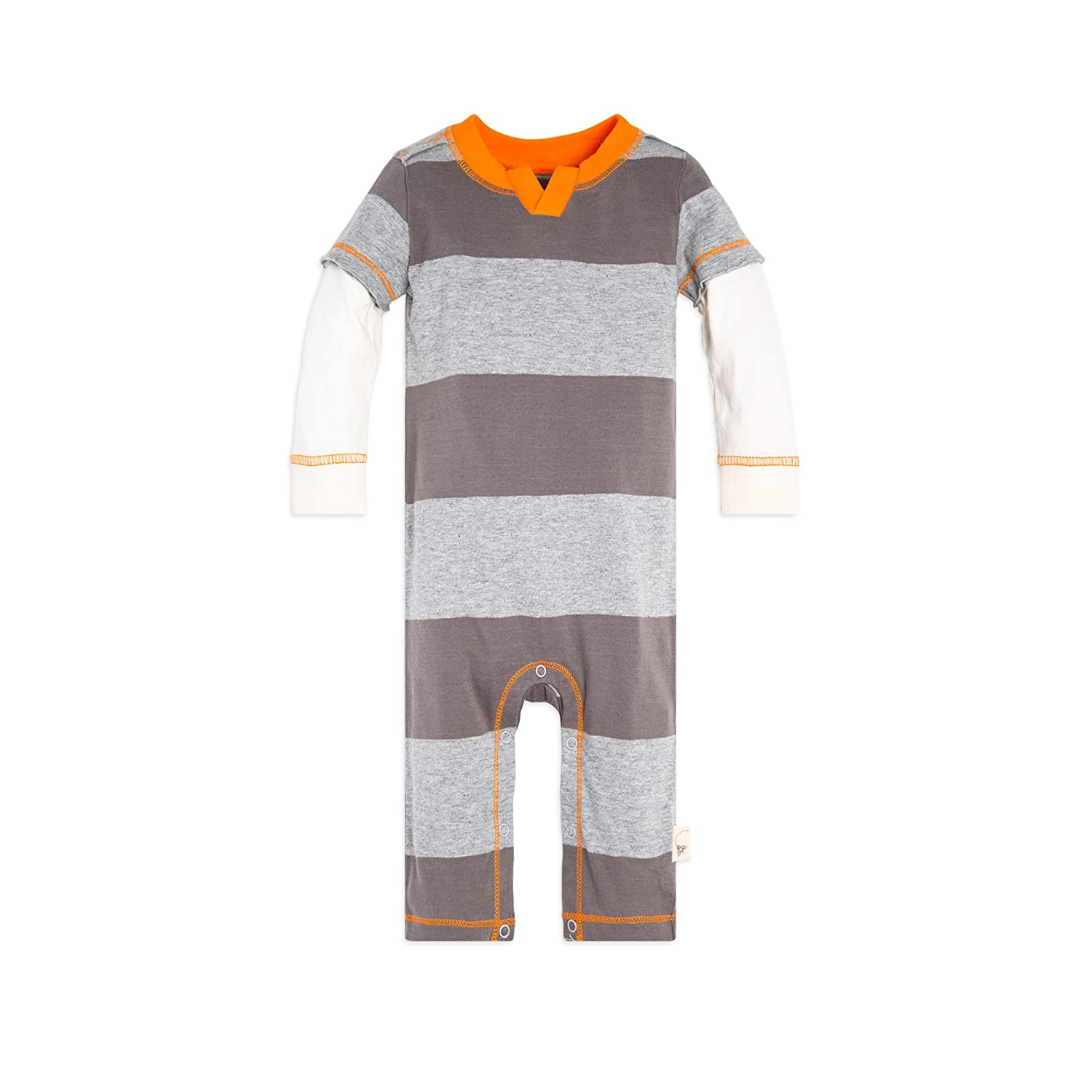8afbd8c23efb Burt s Bees Baby - Boys Romper Jumpsuit One piece outfits make changes  hassle-free