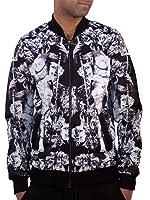 Rocawear Mens Boys Myth Bomber Jacket Varsity College Hip Hop Money Is Time