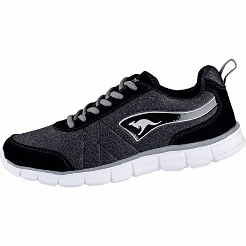 KangaROOS KR-Run Ref, Zapatillas para Mujer, Negro (Jet Black/Steel Grey 5003), EU: Amazon.es: Zapatos y complementos