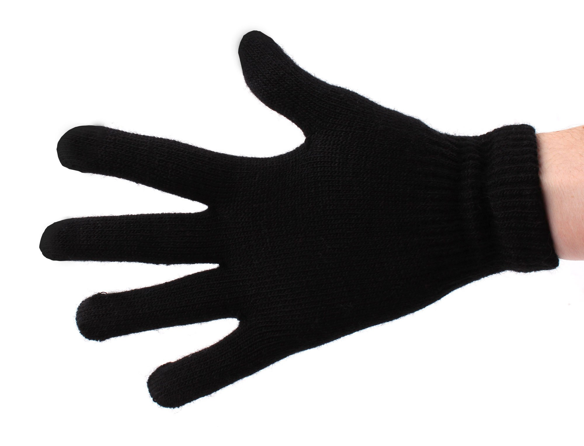 DURAGADGET Touch Screen Compatible Medium Smartphone Gloves With Three Finger Capacitive Technology For LG Google Nexus 4
