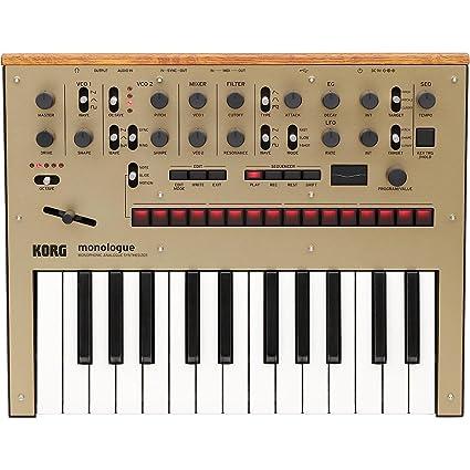 Korg Monologue Monophonic Analog Synthesizer with Presets-Gold (MONOLOGUEGD)