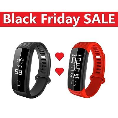 Black Friday vente R8étanche Fitness tracker pour la course à pied, DE L'activité Band tracker, Pulse Monitor, HR tracker de fitness, bracelet d'activité de suivi, d'exercice, continu de la f