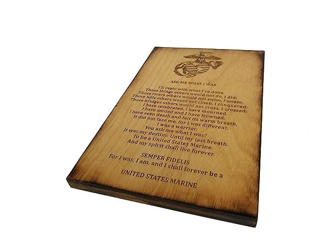 Amazoncom USMC Retirement Gift Ask Me What I Was Marine Corps