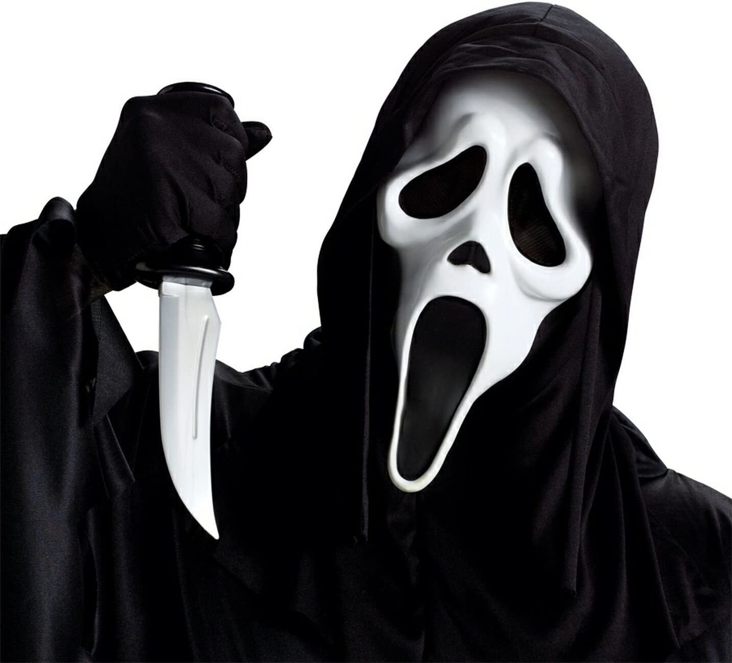 Fun World Costumes Ghost Face with Knife Mask Accessory (disfraz ...