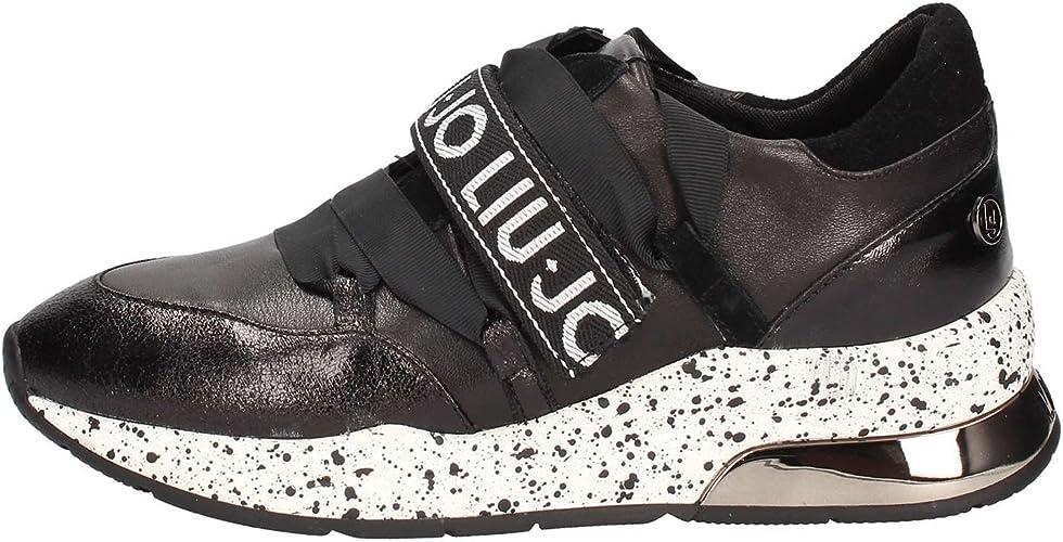Catastrófico bolígrafo Conciencia  Liu Jo Sneakers Donna Mod. Karlie 03 Sneak 018 Black Black: Amazon.co.uk:  Shoes & Bags