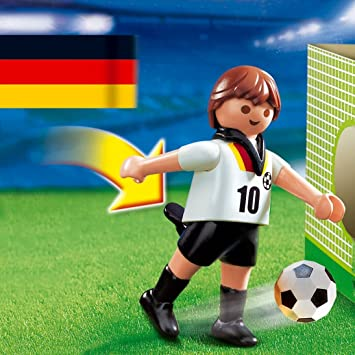 PLAYMOBIL - Futbolista de Alemania (4708): Amazon.es: Juguetes y ...
