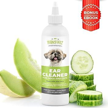 Amazon.com: Limpiador de orejas de perro 4 en 1: solución de ...