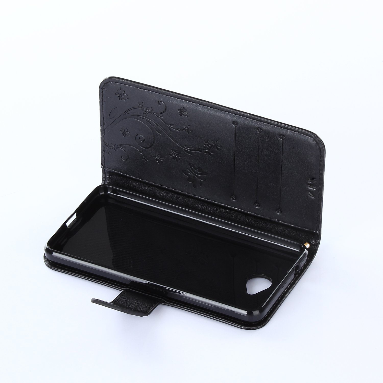 PU Dooki custodia a portafoglio con funzione di supporto e inserti per carte di credito Custodia a libro per Lumia 650 in similpelle