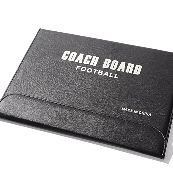Coaches' & Referees' Gear Skyseen Folding Football /Soccer Coach Magnetic board Winning strategy board with Zipper,Eraser,Marker Pen Marker Boards