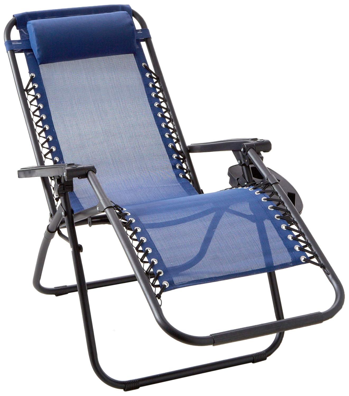 Amazon com backyard expressions patio · home · garden 906632 anti gravity chair blue garden outdoor