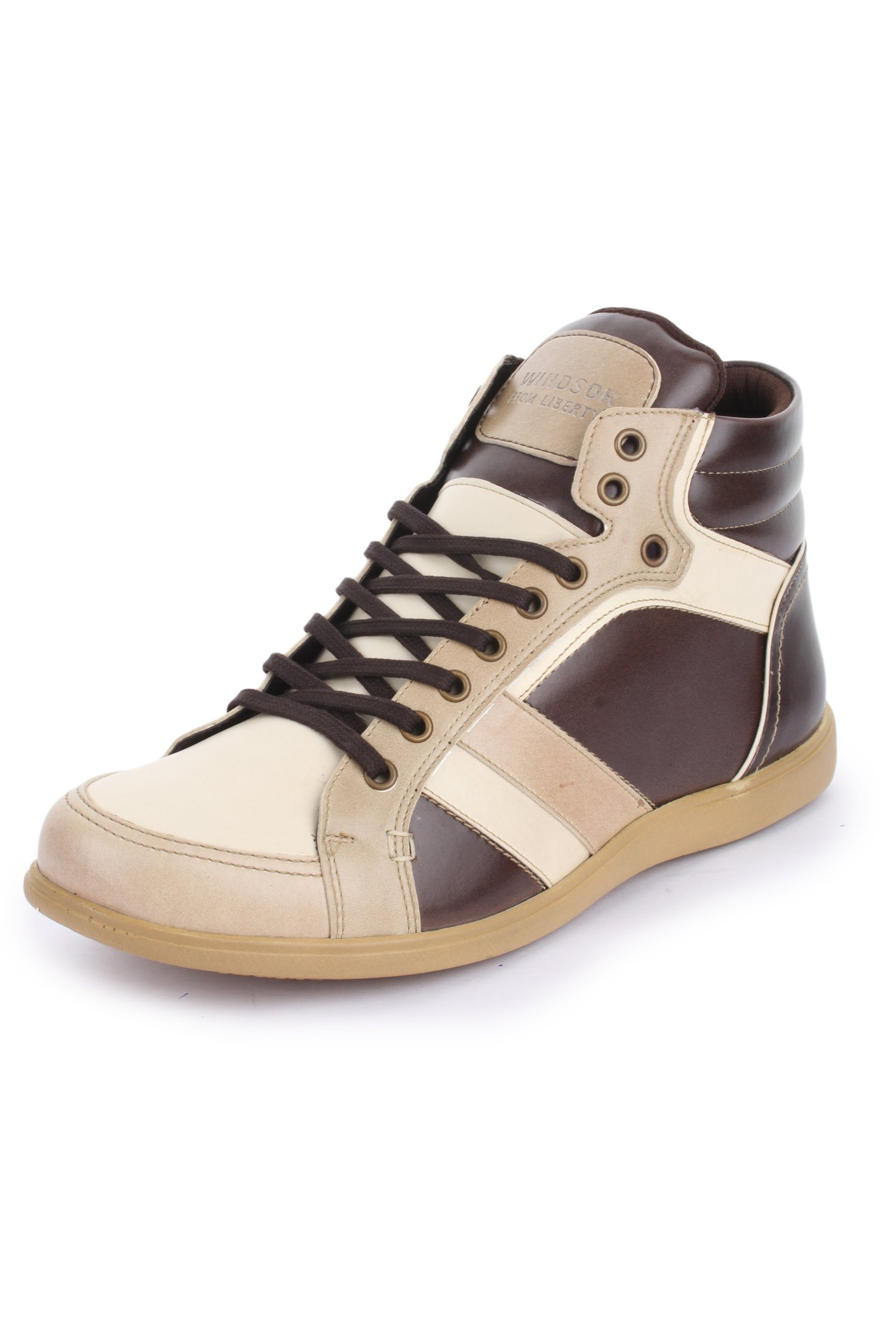 Liberty Casual High Top Fashion Sneakers Beige 10 D(M) Us 14