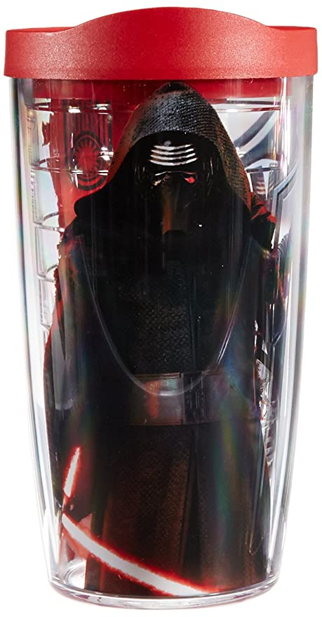 2d9c98a8a81 Tervis Tumbler Star Wars Force Awakens Kylo Ren Tumbler with Travel Lid, 16  oz,