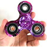 D-JOY Tri-Spinner Fidget Toy Hand Spinner Camouflage, Stress Reducer Relieve Anxiety and Boredom Camo (Starry sky)